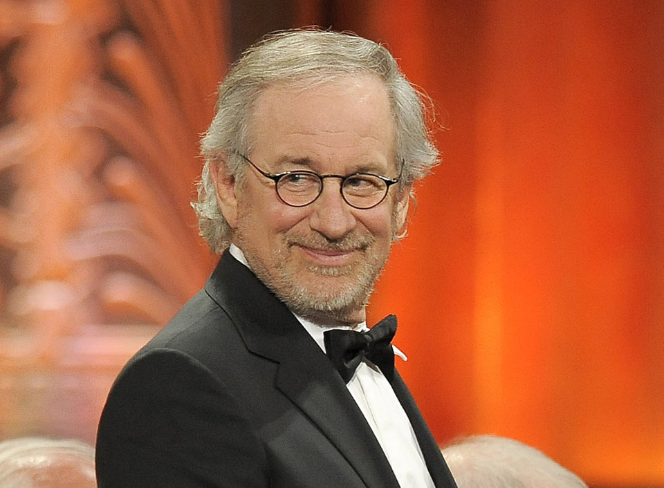 FILE - This June 7, 2012 file photo shows director Steven Spielberg at the AFI Life Achievement Award Honoring Shirley MacLaine at Sony Studios in Culver City, Calif.  Spielberg was nominated  for an Academy Award for best director on Thursday, Jan. 10, 2013, for �Lincoln.�  The 85th Academy Awards will air live on Sunday, Feb. 24, 2013 on ABC.  (Photo by Chris Pizzello/Invision/AP, file)