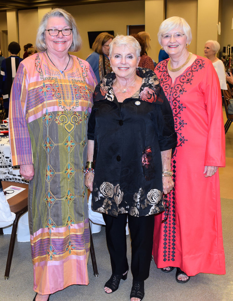 Photo - Joan Bryant, Ret. Maj. Gen. Rita Aragon, Sandy Clapp.  PHOTO PROVIDED