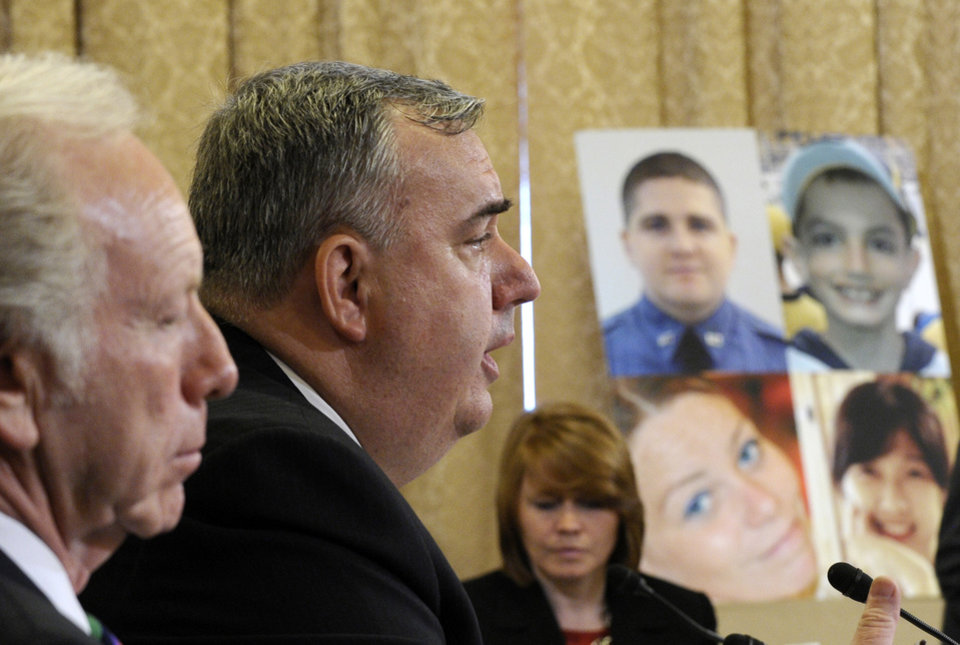 Photo - Boston Police Commissioner Edward Davis testifies before the House Homeland Security Committee at a hearing on