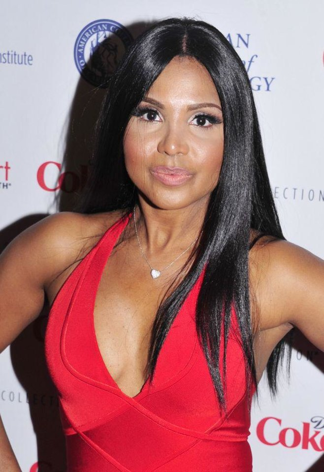 Toni Braxton at  the Red Dress Collection 2013 Fashion Showin New York. (Photo by Charles Sykes/Invision/AP) Photo: AP