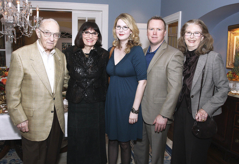 Photo - Peter Alaupovic, Betsy Hyde, Leslie Fretwell, Dustin Hester, Barbara Fretwell.