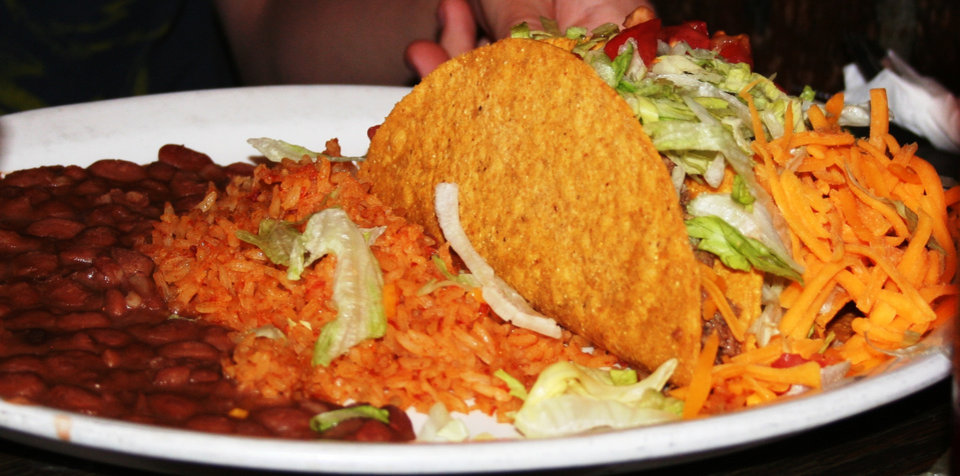 Photo -  On Tuesdays, the Nino's on Northwest Expressway offer all-you-can-eat tacos.