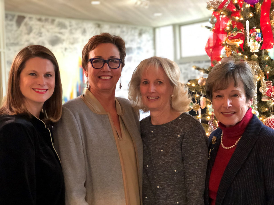 Photo -  Whitney Moss, Leigh Ann Albers, Anne Gray, Kay Musser. [PHOTO PROVIDED]