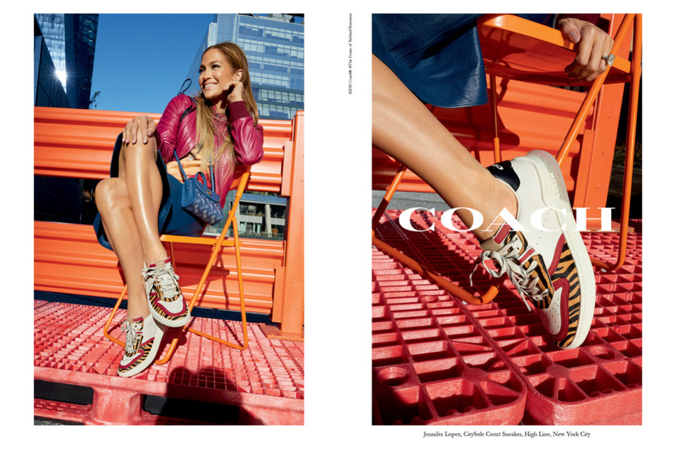Photo - Jennifer Lopez is the face of Coach CitySole.