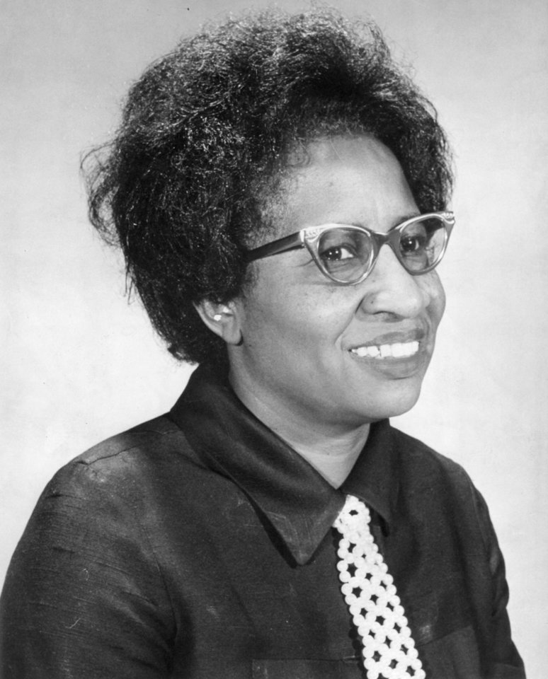 Photo - Clara Luper, civil rights activist  4/4/71