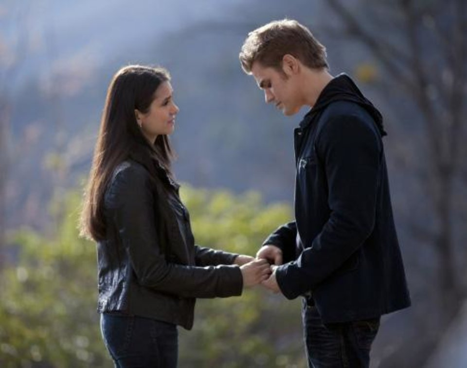 "Photo -  ""The Last Day"" - Nina Dobrev as Elena Gilbert and Paul Wesley as Stefan Salvatore in THE VAMPIRE DIARIES on The CW. Photo: Bob Mahoney/The CW ©2011 The CW Network, LLC. All Rights Reserved."