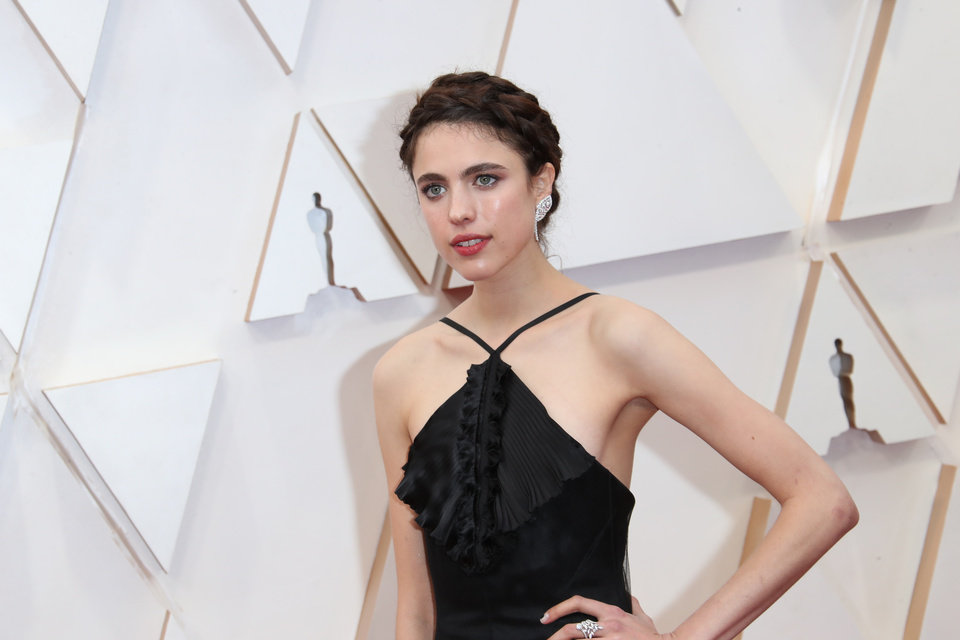 Photo - Feb 9, 2020; Los Angeles, CA, USA; Margaret Qualley arrives at the 92nd Academy Awards at Dolby Theatre. Mandatory Credit: Dan MacMedan-USA TODAY