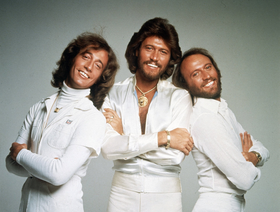 Photo -   In this January 1979 file photo, the British pop group the Bee Gees, from left, Robin Gibb, Barry Gibb and Maurice Gibb, pose for photographers, somewhere in England. A representative said on Sunday, May 20, 2012, that Robin Gibb has died. He was 62. (AP Photo/File)