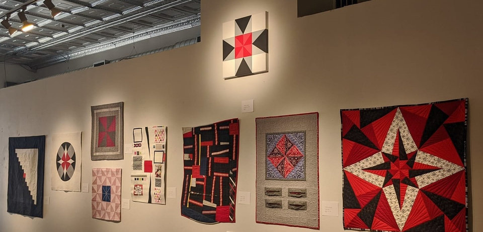 Photo - Quilts inspired by McAlester painter Jason Wilson's painting