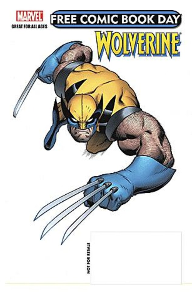 Photo - A comic book featuring Wolverine is among the giveaways planned for Free Comic Book Day.  PROVIDED BY MARVEL COMICS