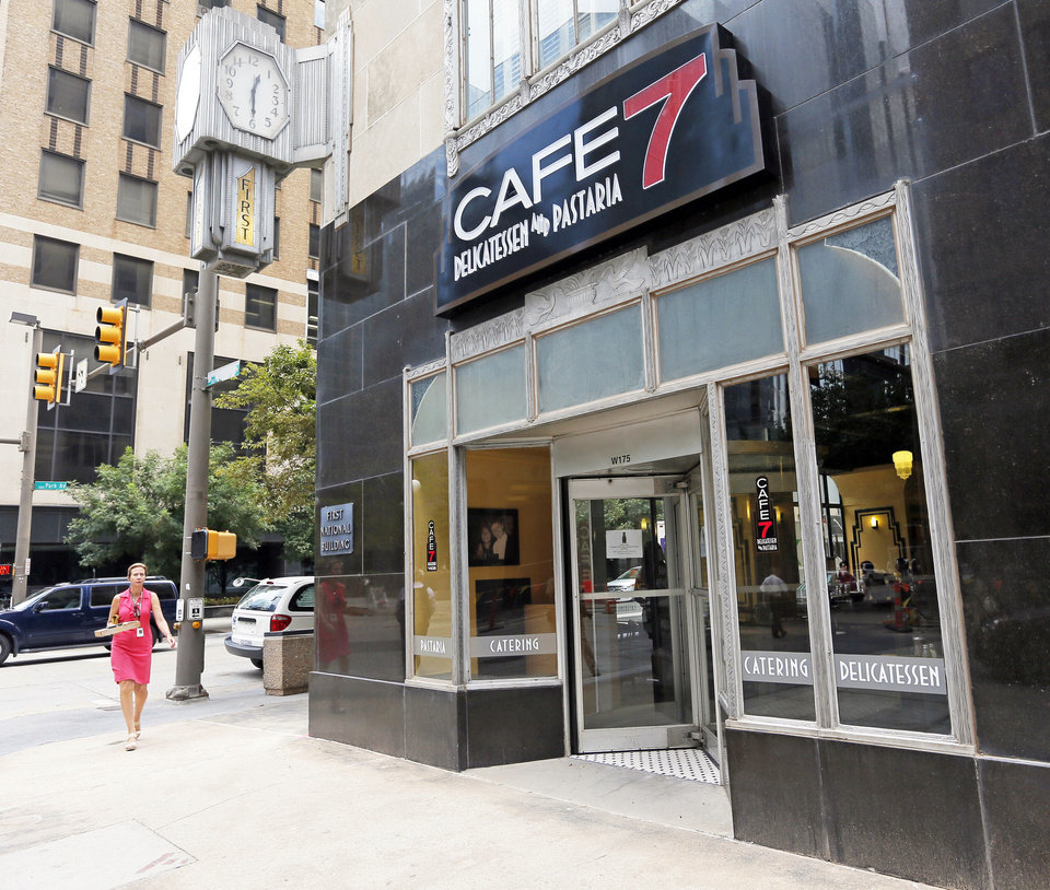 Photo - Cafe 7 is now open at the First National Center downtown.