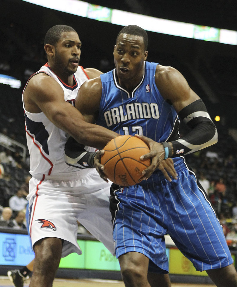 Dwight Howard and the Orlando Magic were 7-0 during the preseason. AP PHOTO
