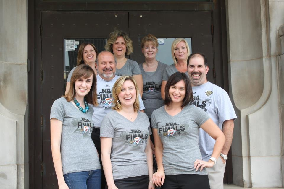 The staff at the YMCA of Greater Oklahoma City.