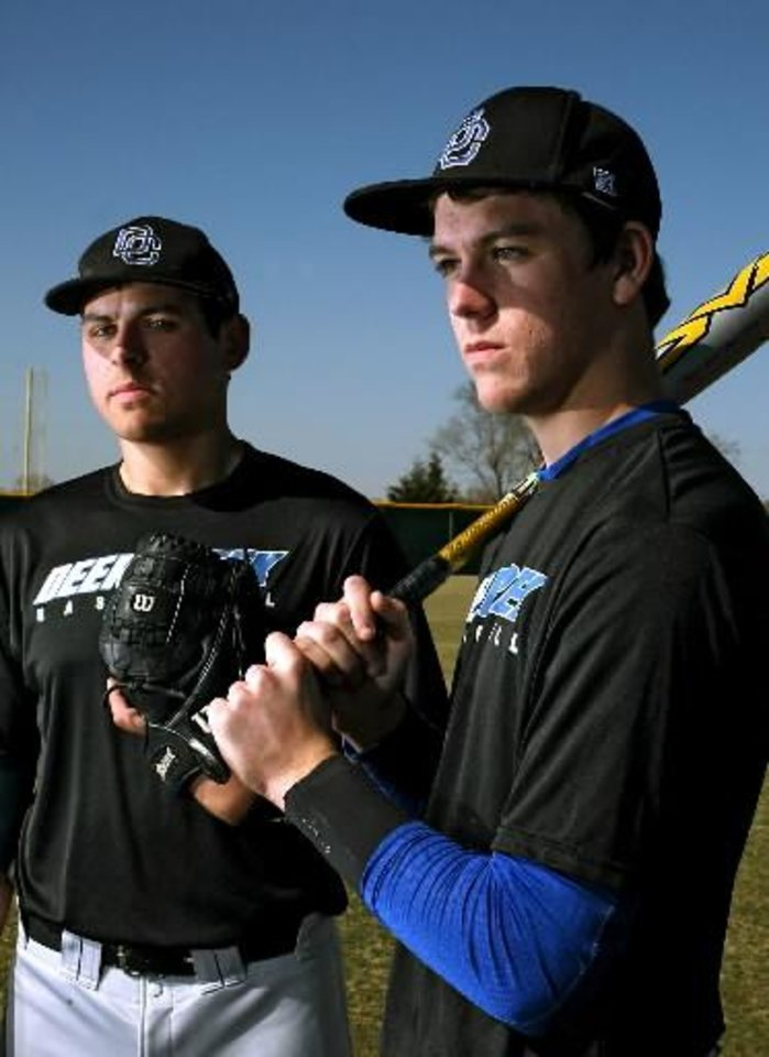 "The ""Arkansas boys"" as Michael Fulmer and Brian Anderson have led Deer Creek to another great season."