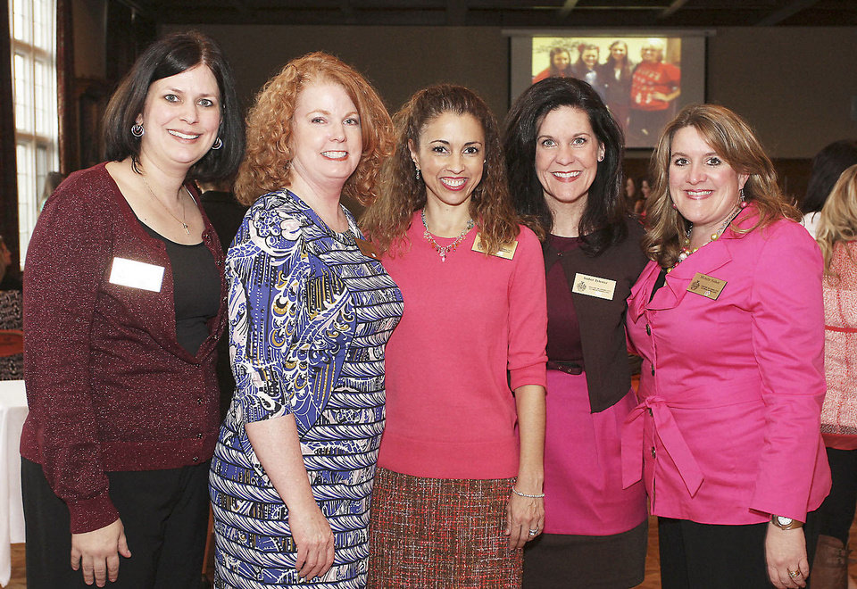 Keri Foster, Barbara Swinton, Suzanne Reynolds, Amber Tytenicz, Michelle Nisbett. Photo by David Faytinger for The Oklahoman____