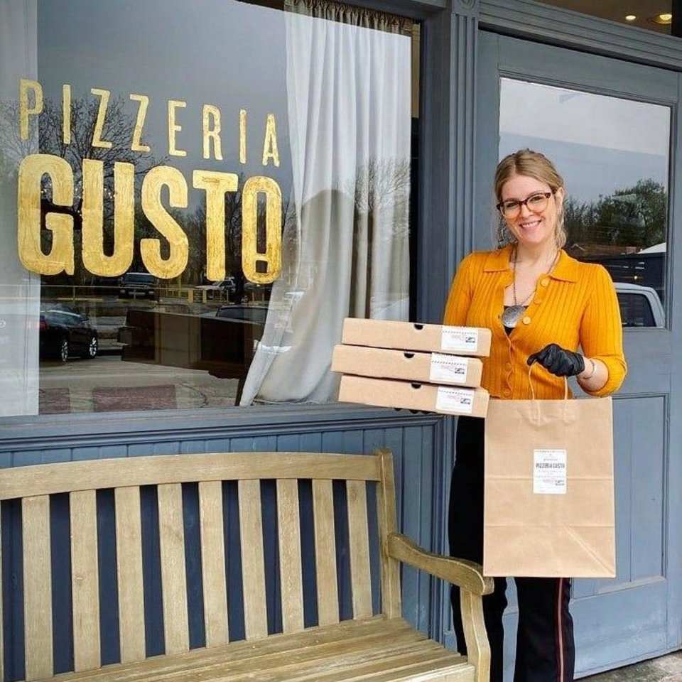 Photo - Pizzeria Gusto is offering curbside delivery. [Photo provided]