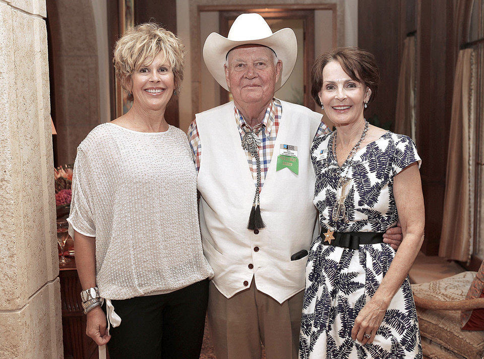 Photo - Lynn Samis, Bill Arrington, Susan Hoffman. Photo by Bryan Terry, The Oklahoman