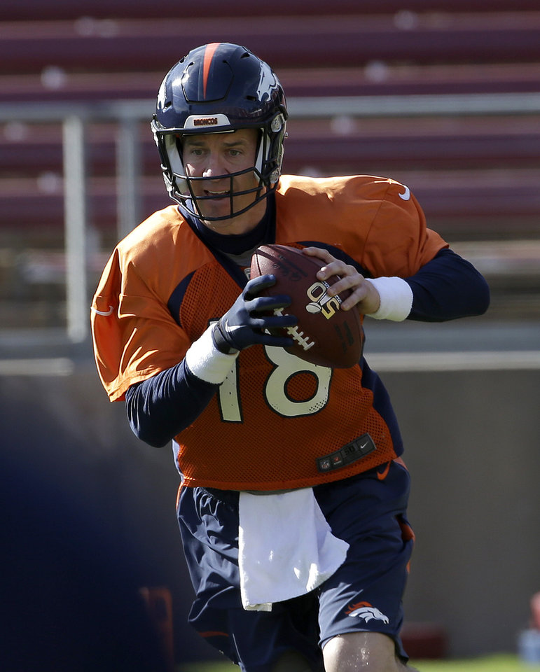 Manning's Glove Gives Him Better Grip On