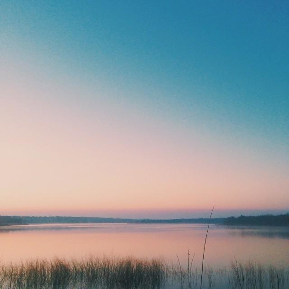 Liberty Lake - Photo by Instagrammer @madzpipkin