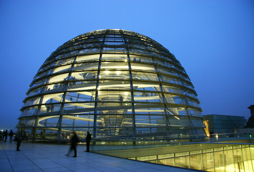 In Berlin, a convenient online ticketing system is making it easier to visit the Reichstag�s roof terrace and dome. (Photo by Laura VanDeventer)