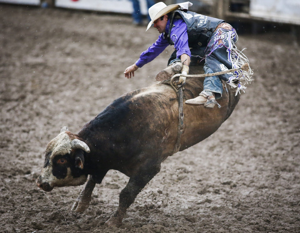 Plenty Of Mud And Bucking Broncos At The 2016 Calgary Stampede