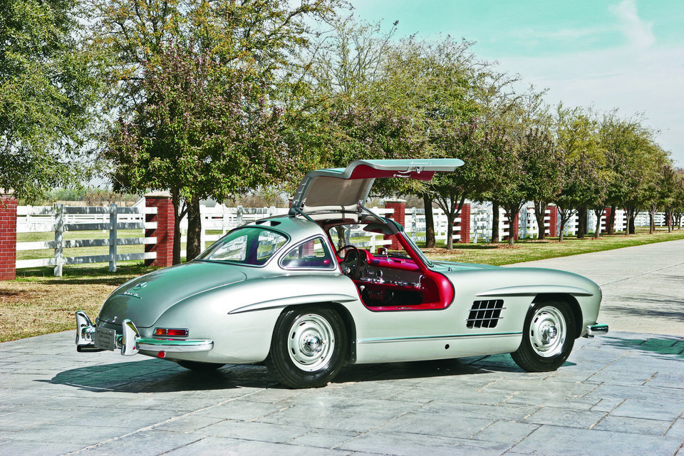Photo - This 1955 Mercedes-Benz 300 SL Gullwing Coupe was sold last month by Oklahoma City auto dealer Bob Howard. PHOTO PROVIDED