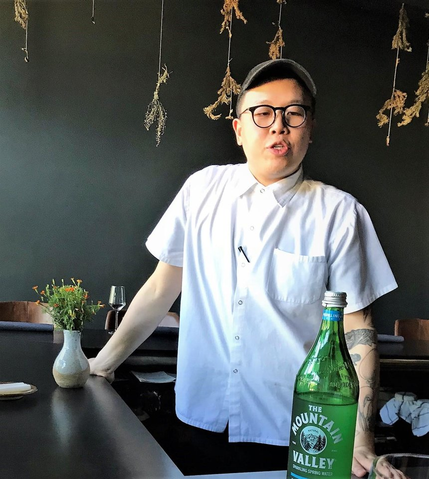 Photo -  Chef Paul Wang will be at Nonesuch until September, when he'll return home to California. [Photo by Dave Cathey, The Oklahoman]