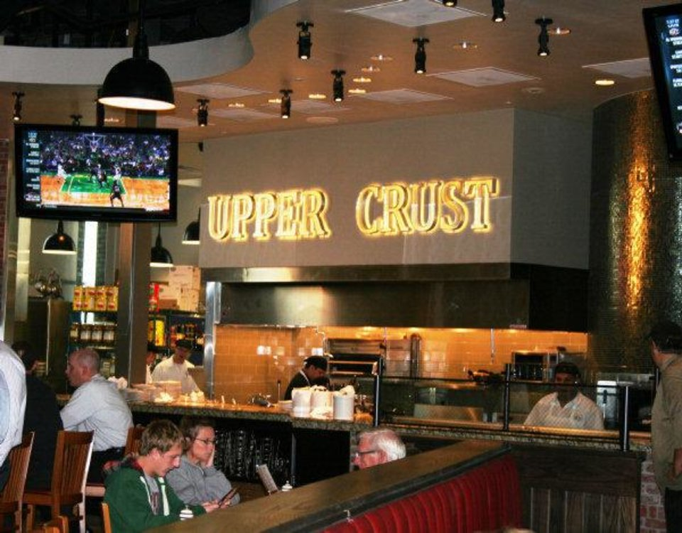 Photo - Upper Crust Wood-Fired Pizza is now open in Classen Curve at 5860 N Classen Blvd. Photo by Dave Cathey.