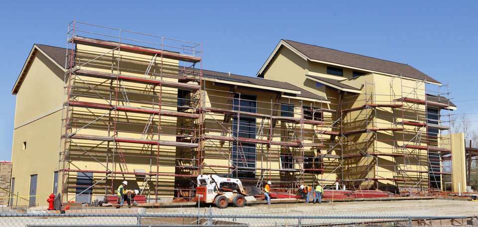 The OK Kids Korral, 818 NE 8, is shown Monday under construction in Oklahoma City. Photo by Paul B. Southerland, The Oklahoman