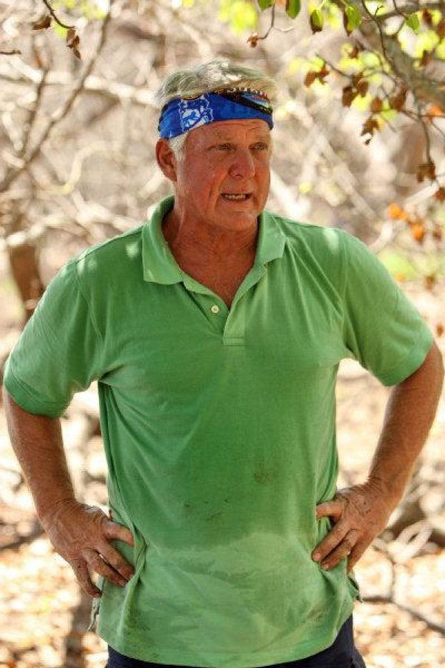"Jimmy Johnson is one of the competitors in ""Survivor: Nicaragua,"" which premieres at 7 tonight on CBS. <strong>MONTY BRINTON - CBS</strong>"