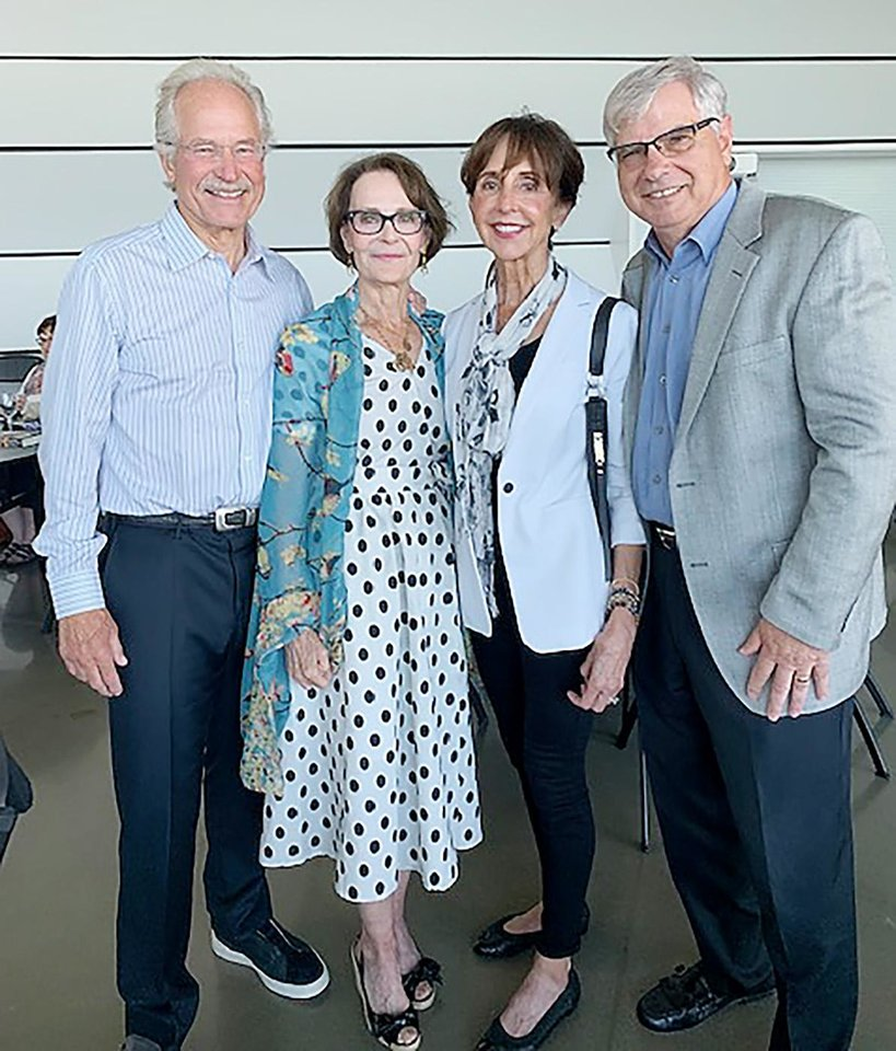 Photo - Peter and Susan Hoffman, Nancy and Larry Herzel. TERRI COOPER PHOTO