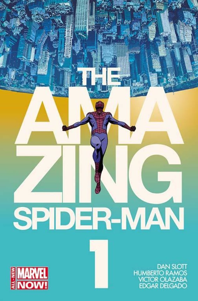 "Photo -  A variant cover to ""The Amazing Spider-Man"" No. 1 by Marcos Martin. Provided by Marvel Comics"