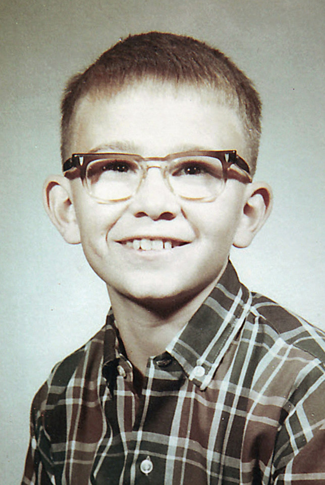 Copy of a school photo of Jimmy Allen Williams, who went missing in 1970 at 16. <strong>David McDaniel - The Oklahoman</strong>