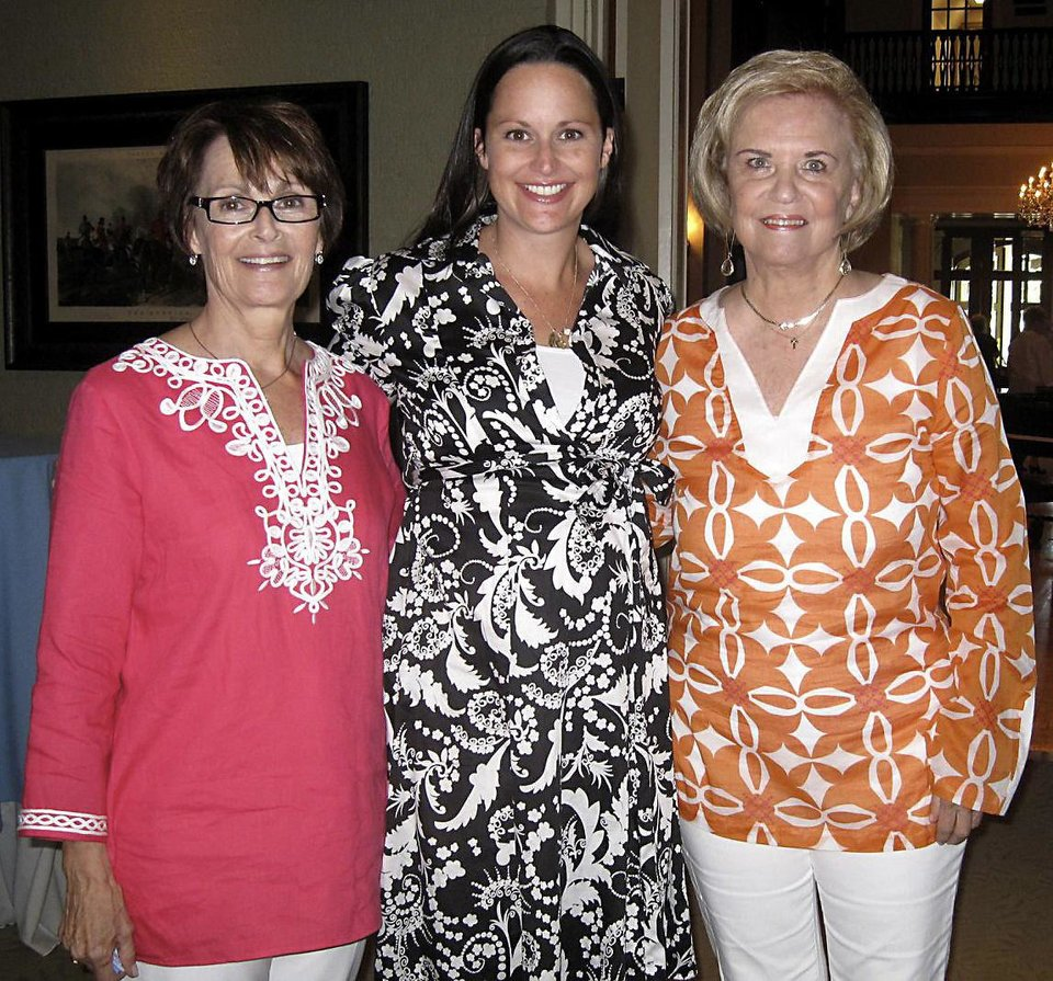 Photo - Linda James, Laura Kirkpatrick, Pam Smith.