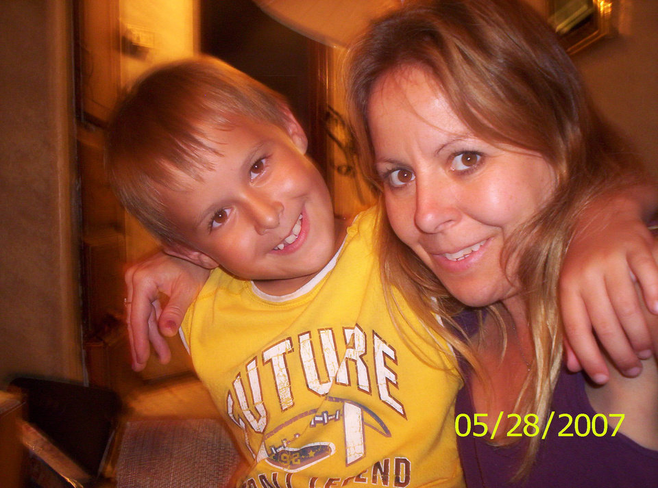 MOM and Kash ... HIs brother is 26 and Kash is 10 ... I am a very proud MOM of two cute boys.. MIKE and Kash.<br/><b>Community Photo By:</b> Tama<br/><b>Submitted By:</b> Tama, Midwest