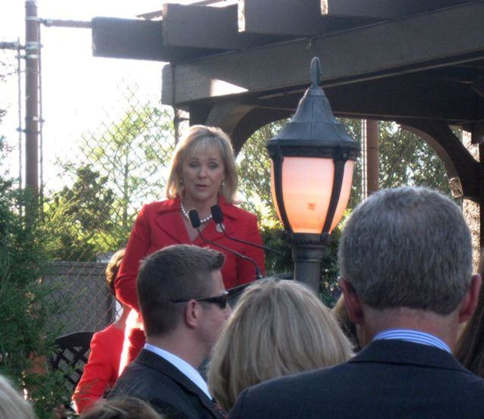 Gov. Mary Fallin. (Photo by Helen Ford Wallace).