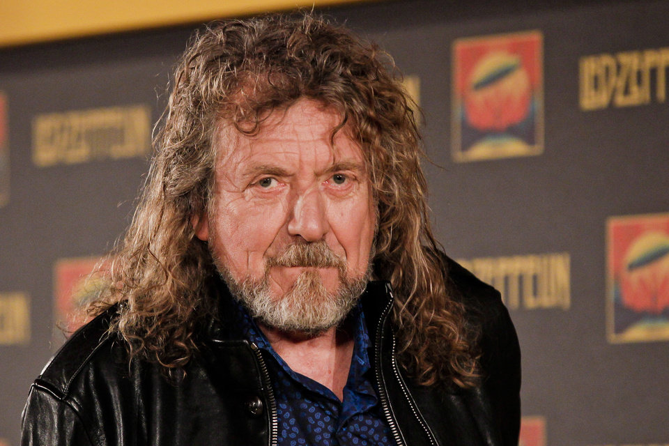 Photo -   Led Zepplin frontman Robert Plant poses for a photo at a media screening ahead of the worldwide theatrical release of Led Zeppelin's 2007 Celebration Day concert at the O2, Friday, Sept. 21, 2012, in London. (Photo by Miles Willis/Invision/AP)