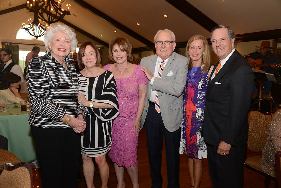 Photo -  Phyllis Stough, Connie Givens, Judy and Bill Phillips, Penny and John McCaleb.