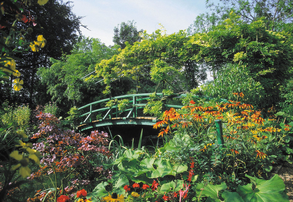 Photo -  Claude Monet's garden at Giverny in France was an inspiration to many Impressionist painters. Photo courtesy of Patricia Woeber.