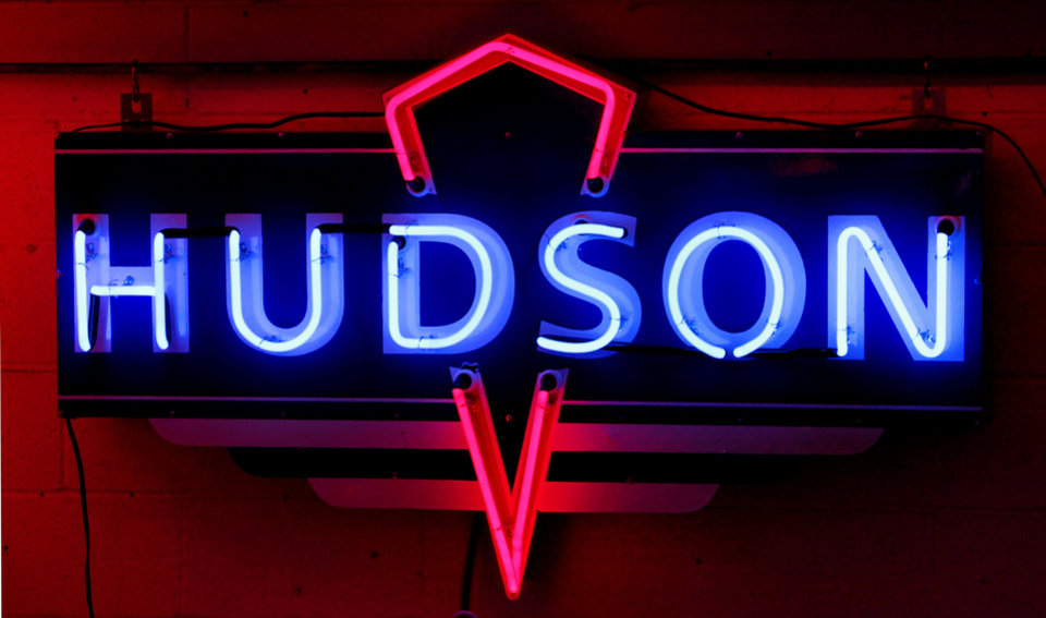 This Hudson sign is in a private collection but represents the type that organizers would like to be on display in a  billboard and sign museum project in Bethany. Photo By David McDaniel, The Oklahoman <strong>David McDaniel - The Oklahoman</strong>