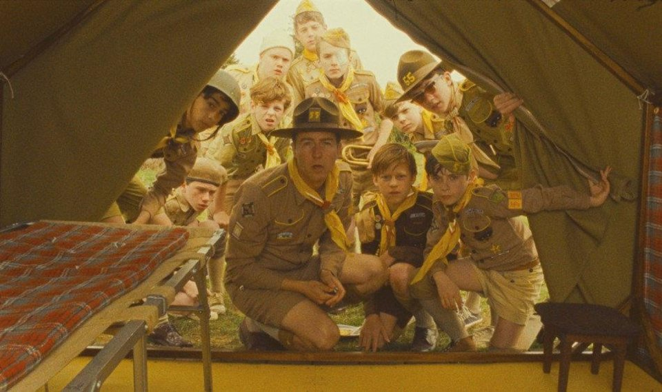 Photo - Edward Norton (center) stars as Scout Master Ward in Wes Anderson's