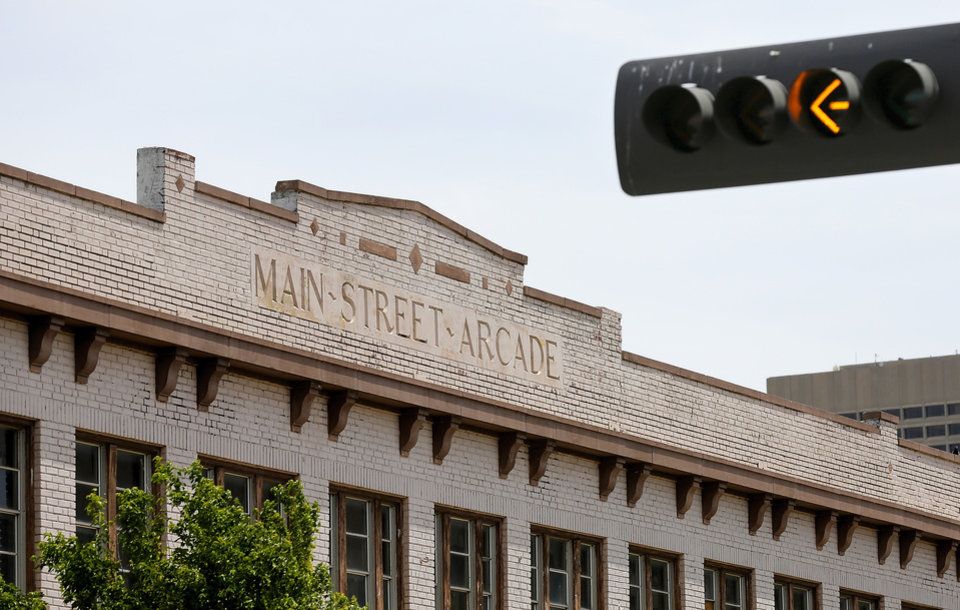 Photo -  The Main Street Arcade Building is set to come back to life as a mix of retail and office space.   Jim Beckel -  THE OKLAHOMAN