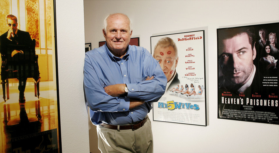 Photo - OCCC / PRODUCER: Gray Frederickson has been producing major motion pictures, including three Godfather films, for 50 years. He is now at Oklahoma City Community College.  He was photographed on campus, Wednesday, May 6, 2009  Photo by JIM BECKEL, THE OKLAHOMAN ORG XMIT: KOD