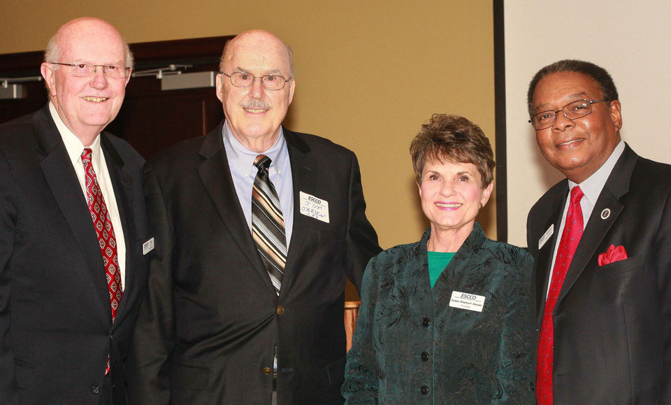 Photo - Jack Fesler, Jim O'Brien, Donna Rinehart-Keever, George Johnson. Photo provided