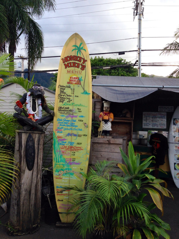 Photo -  Photo of Mike's Huli Huli food truck in Kahaluu, Hawaii    -  Mi-Ling Stone Poole
