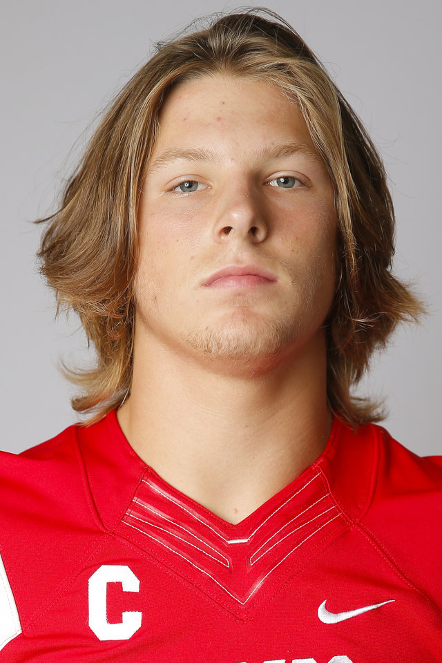 Photo - Former Yukon linebacker Owen Olsen was a second-team selection on The Oklahoman's 2018 Big All-City squad. [Bryan Terry/The Oklahoman]