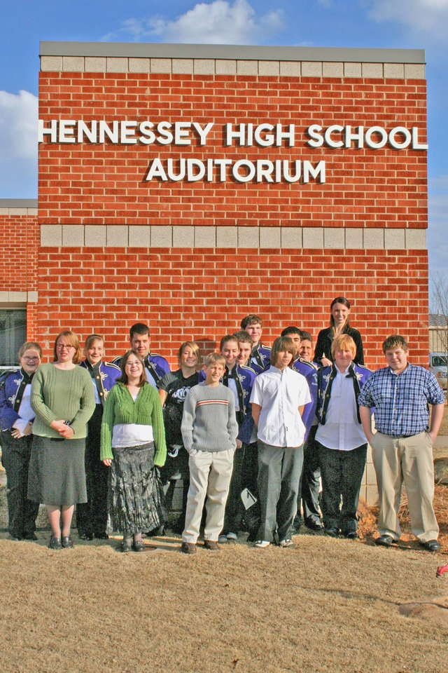 Marci Kitchens, Bethany Schools Band Director, took a select group of middle and high school band members to play in the All Area Honor Band Concert on Saturday, January 6th, in Hennessey.  Bethany was well represented by its fine musicians.<br/><b>Community Photo By:</b> Cindi Tennison<br/><b>Submitted By:</b> Cindi , Bethany