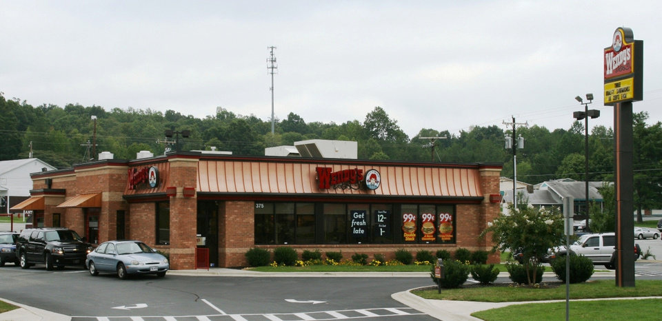 Photo -  A Wendy's in Mason, Ohio, was among the single-tenant, net lease investment deals that Will Lightfoot handled last year as a broker for CB Richard Ellis-Oklahoma. Photo provided      -  PROVIDED