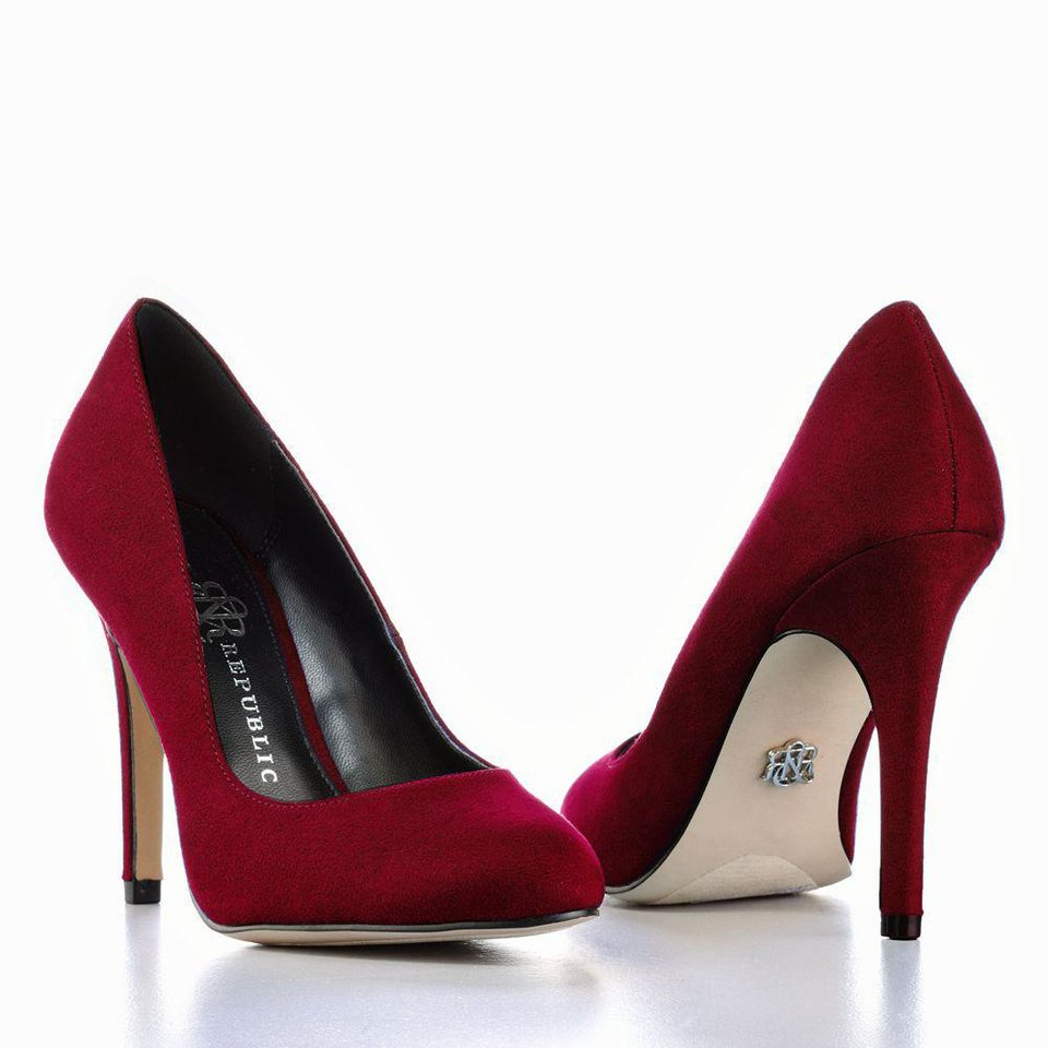 Finish your look similar to Emma Stone with the Rock and Republic high heel from Kohls.com for $34.99, and you're sure to turn some heads. (Courtesy Kohl's via Los Angeles Times/MCT)