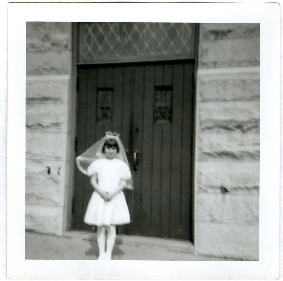 This 1969 family photo shows Donna Willing during her first communion. Donna was raped and strangled in 1970. Police have identified Willing's childhood neighbor as the alleged killer: 73-year-old Robert Hill. He�s been in prison for other sexual assaults of children. The biological evidence in Donna Willing�s case was lost or destroyed, and prosecutors are using Wisconsin's sex offender law to possibly keep him in custody indefinitely. They hope to prove Hill is a sexually violent person during a Monday, Nov. 19, 2012 hearing. (AP Photo/Family Photo via Milwaukee Journal-Sentinel)